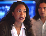 Iris West (Candice Patton) Champagne Citrine Necklace on The Flash by Peggy Li