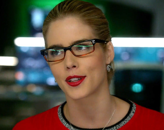 Felicity Smoak Raindrop Earrings seen on Arrow