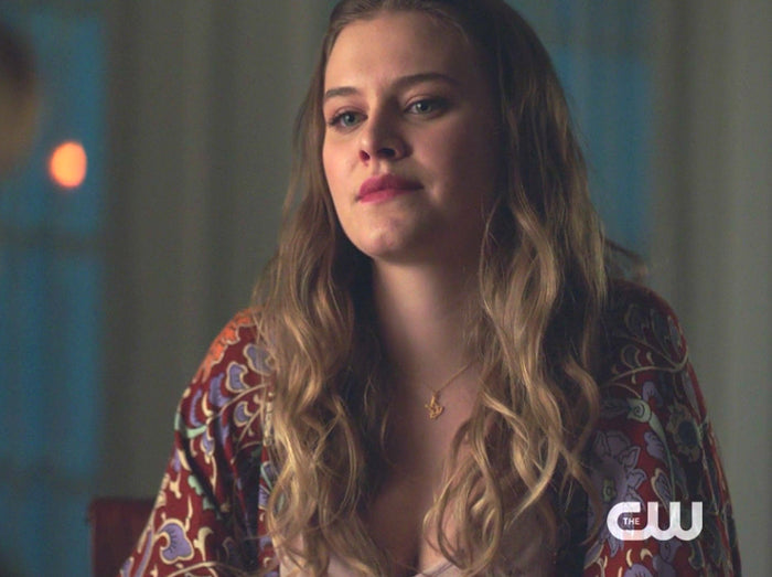 Polly Cooper Dove Necklace on Riverdale