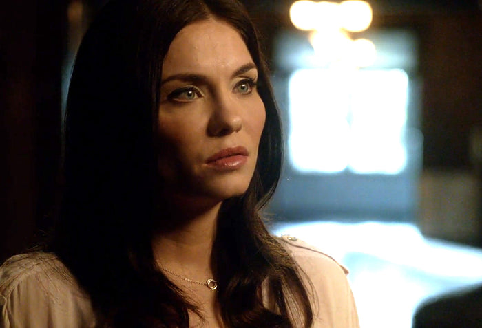 Jodi Lyn O'Keefe as Jo on The Vampire Diaries wearing Clustered Circle Earrings by Peggy Li