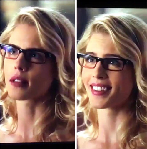 Felicity Smoak Simple Circle Earrings