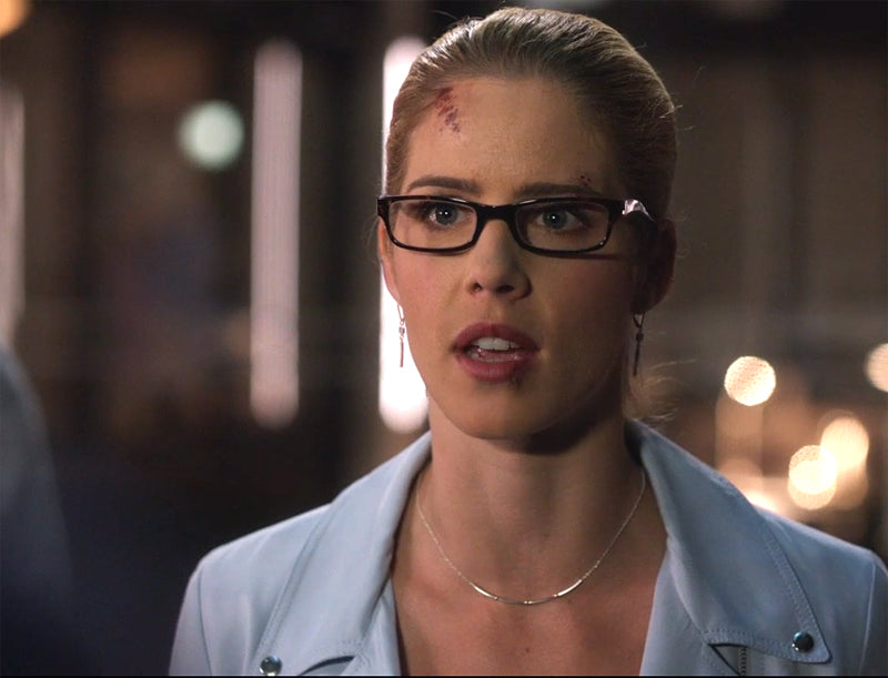 Felicity Smoak bar earrings