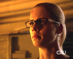Felicity Smoak sapphire earrings Arrow