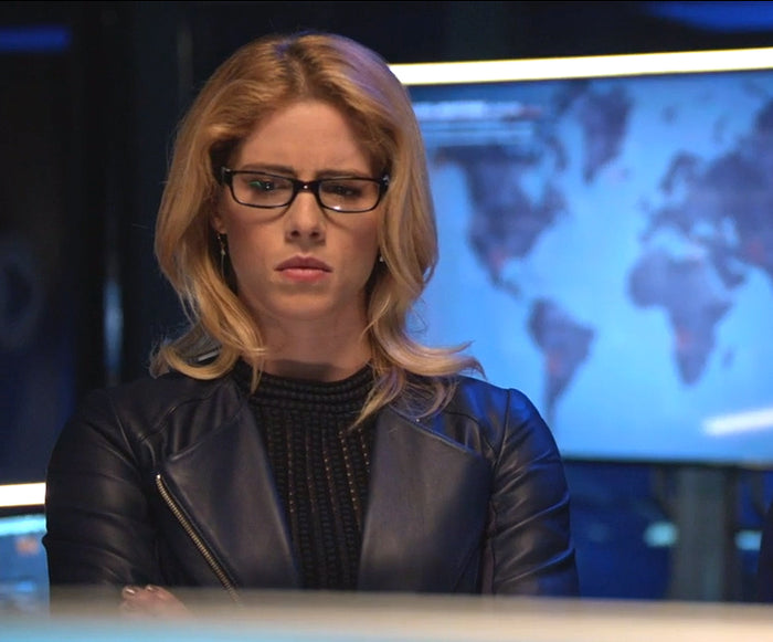 "Felicity Smoak Opal Droplet Earrings ""Due Process"""