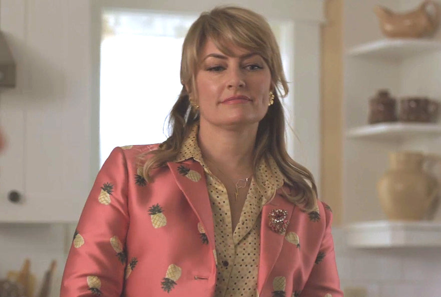 Madchen Amick as Alice Cooper on Riverdale wears a Peggy Li Necklace