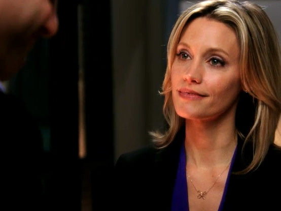 KaDee Strickland wearing a Butterfly Twist Necklace on Private Practice