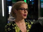 Felicity Smoak Diamond Threader Earrings Arrow