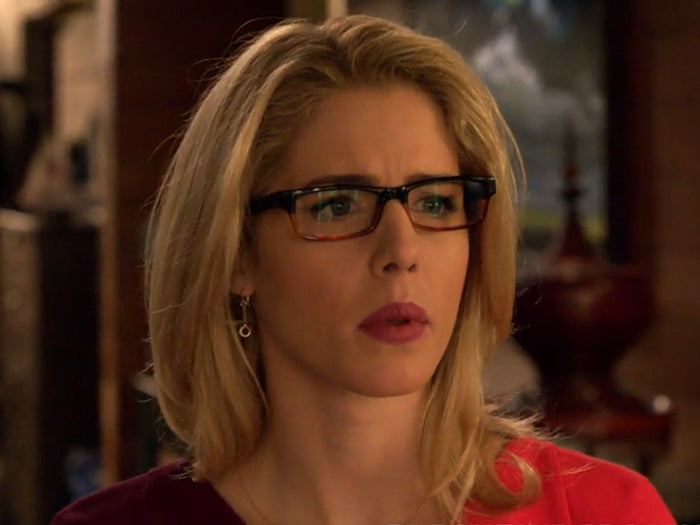 Felicity Smoak Floating Circles Earrings seen on Arrow