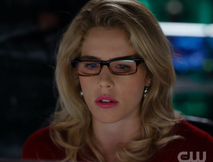 Felicity Smoak Pearl Earrings seen on Arrow
