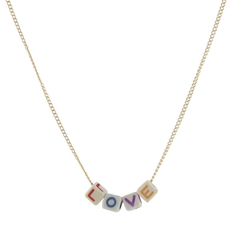 Alphabet Name Necklace