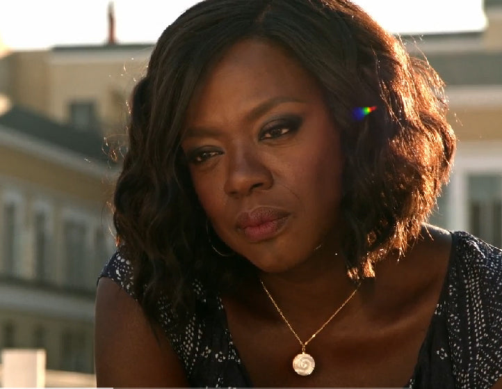 Annalise Keating Mother of Pearl Necklace HTGAWM