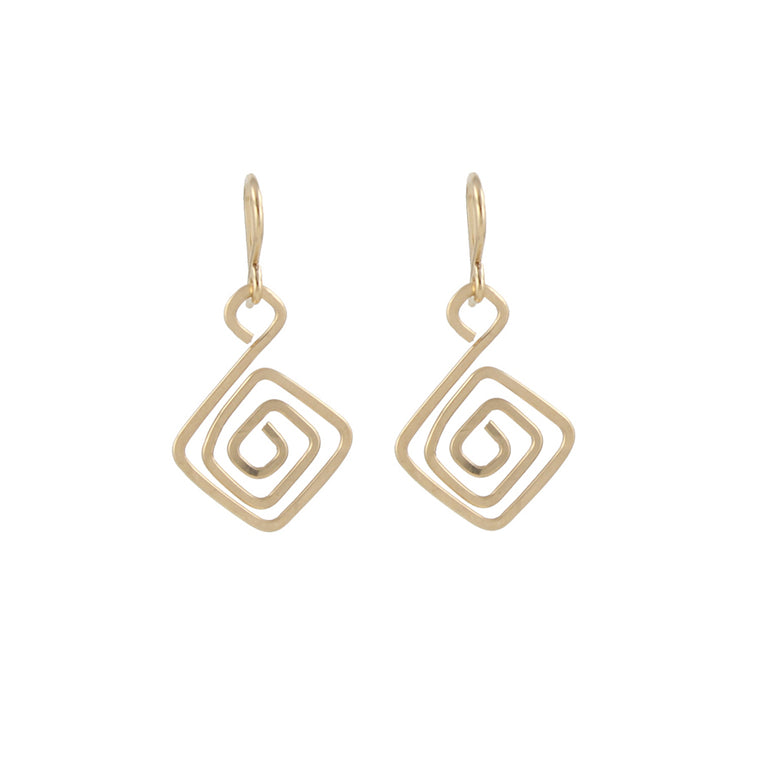 Aztec Swirl Earrings