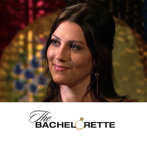 Becca Kufrin Druzy Spike Earrings