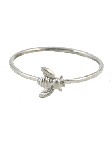 Little Bee Ring sterling silver