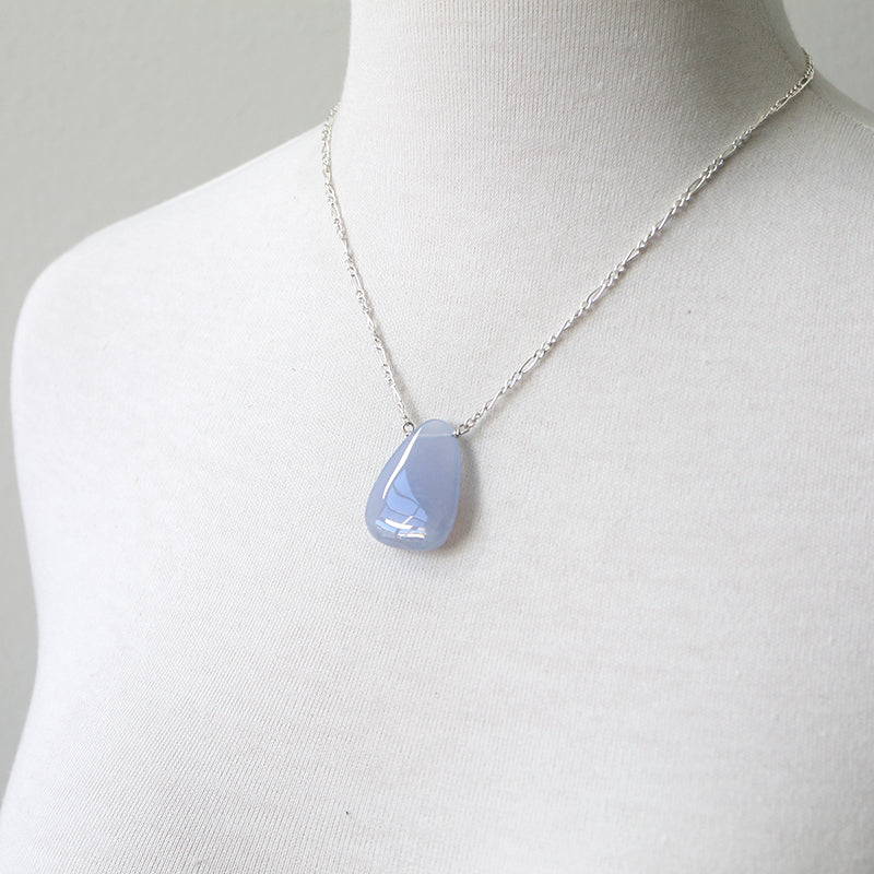 Willow blue stone necklace Buffy