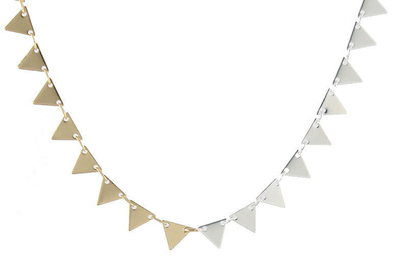 Ombre Triangles Necklace