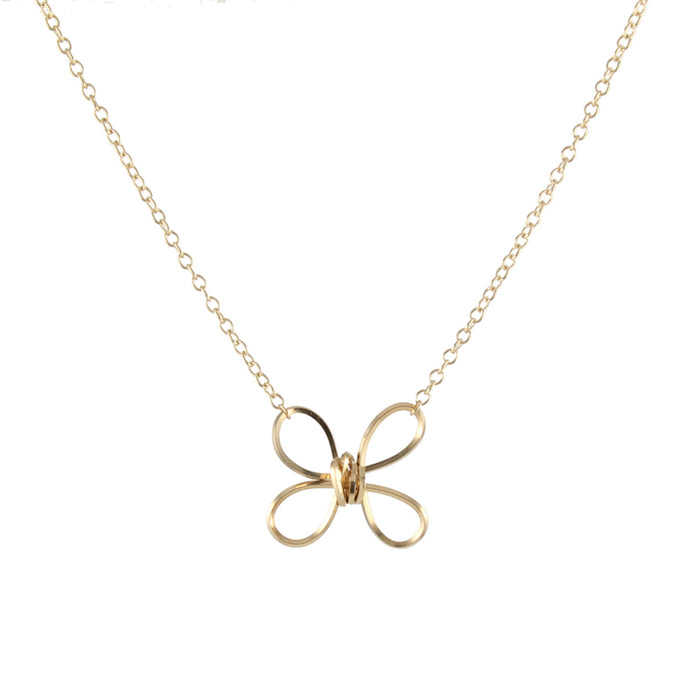 Butterfly Twist Necklace