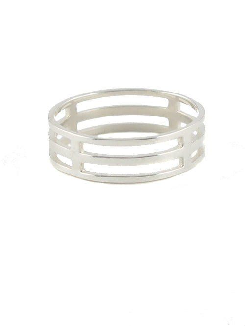 Cage Ring sterling silver