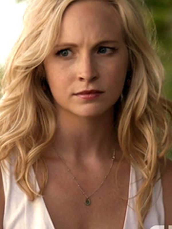 Caroline TVD Om Necklace