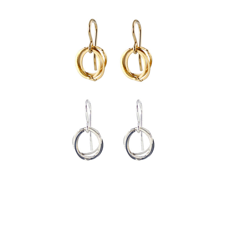 Clustered Circle Earrings