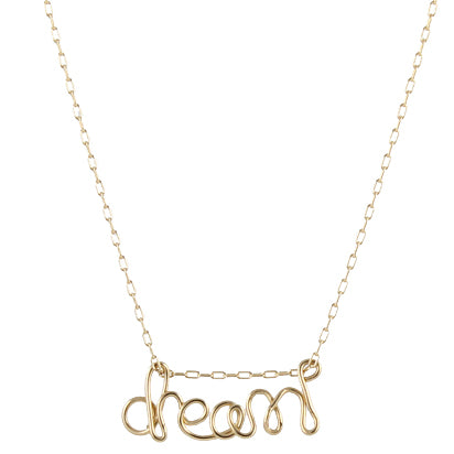 deidreamers sterling word silver amazon gold com dp loved necklace