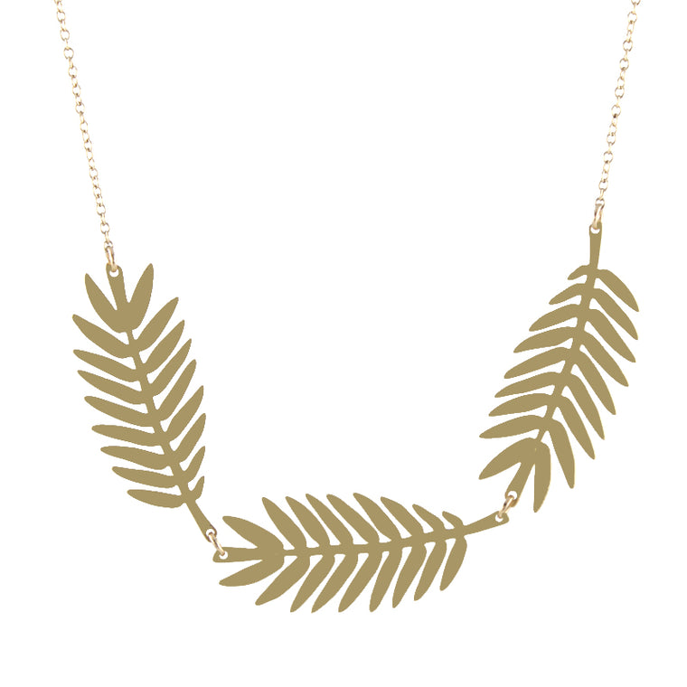 Fern Frond Necklace