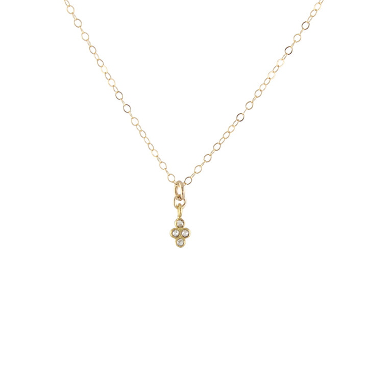 Diamond Clover Necklace