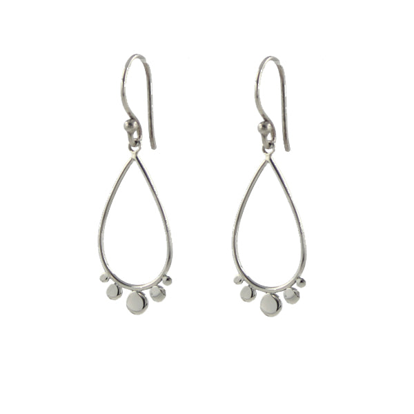 Dotted Teardrop Earrings