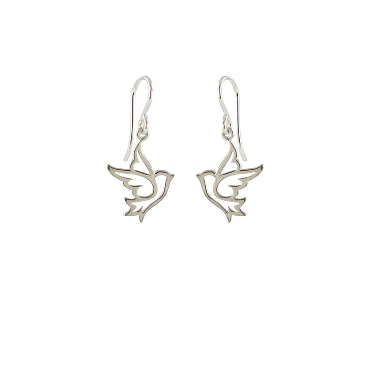 Dove Charm Earrings