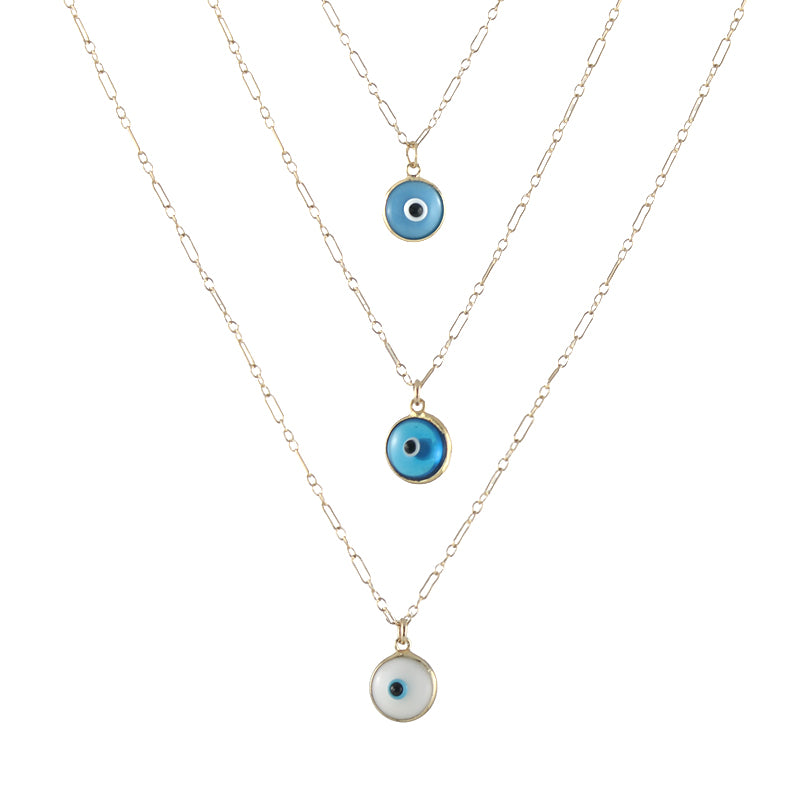 Evil Eye Charm necklaces