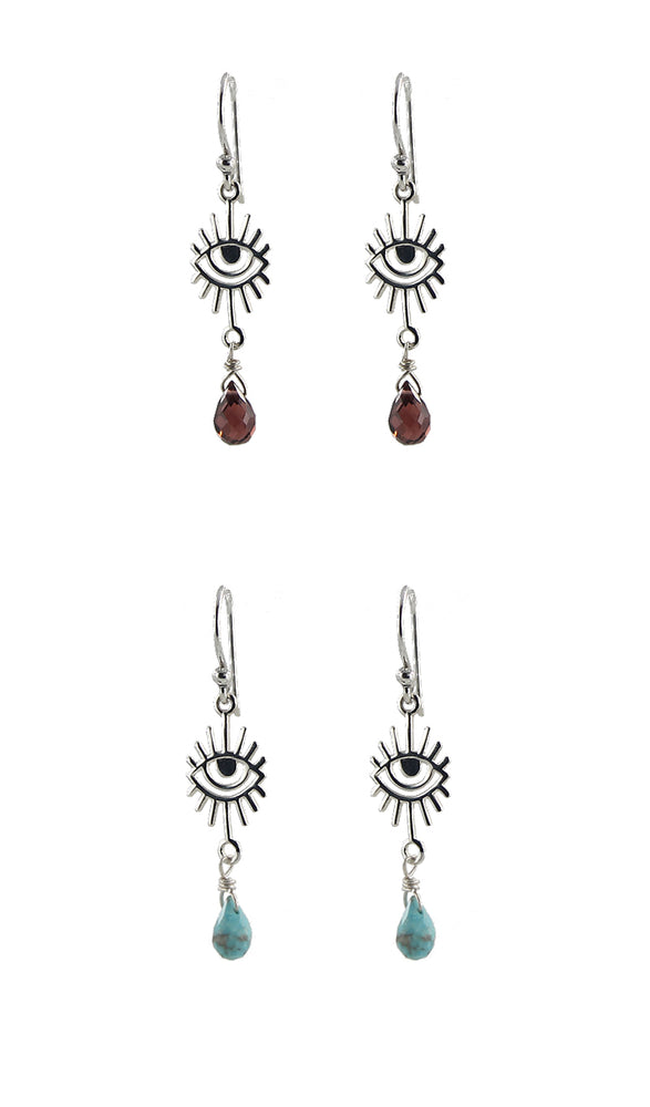 Seeing Eye Earrings