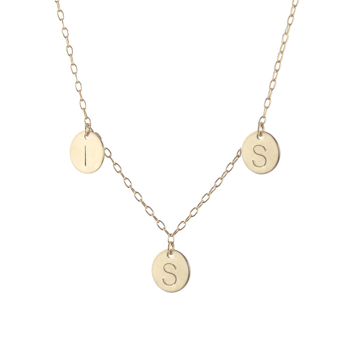 Family Initials Necklace