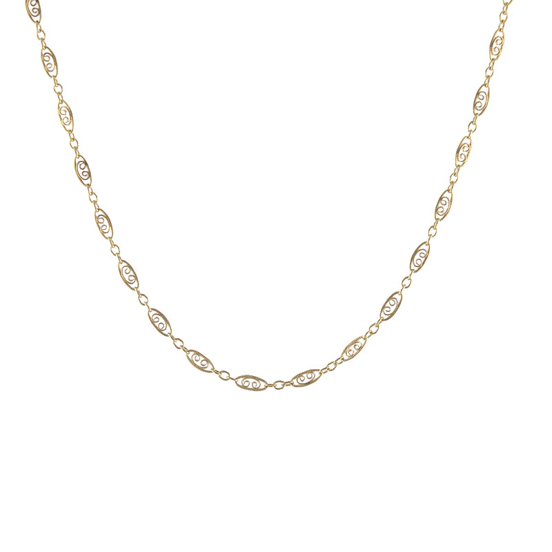 Filigree Chain Necklace
