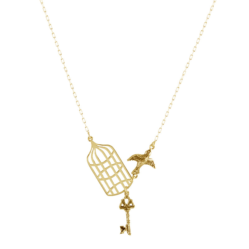 Flying Free Necklace