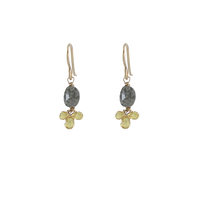 Gem Fleur Earrings