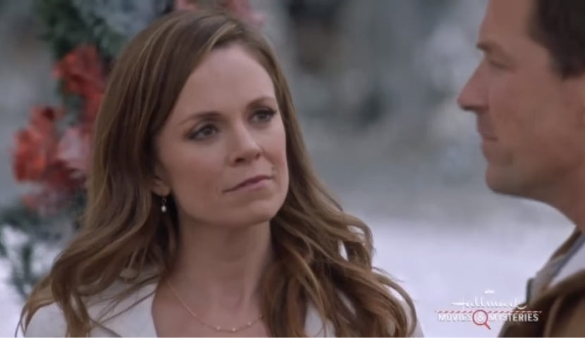 Rachel Boston Christmas in Angel Falls gem necklace