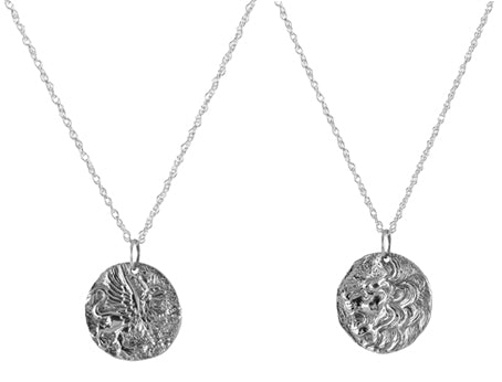 Ancient Coin Necklaces - sterling silver