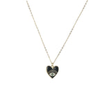 Seeing Eye Heart Necklace