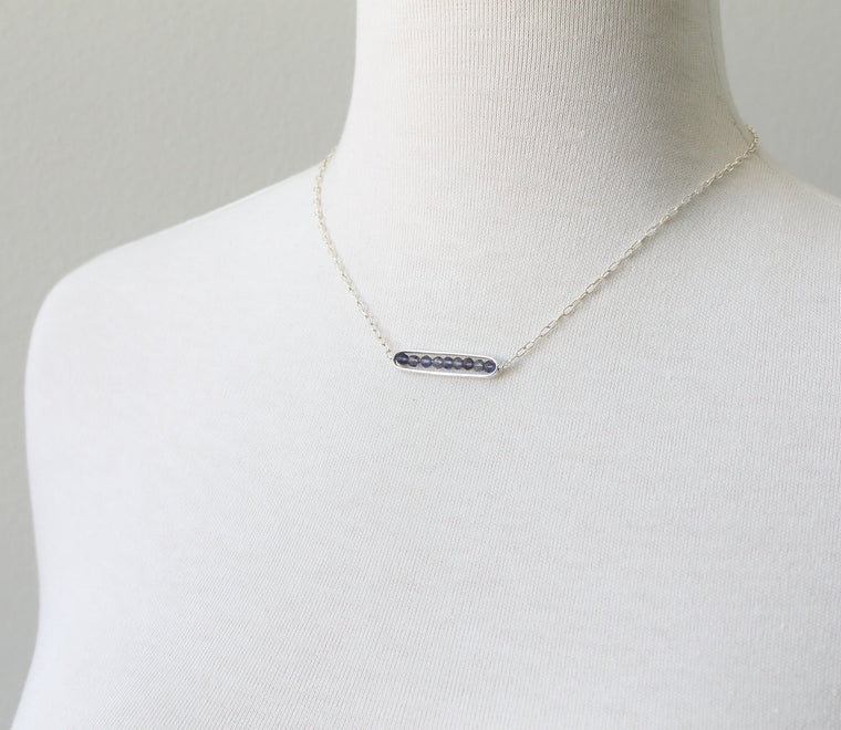 Felicity Iolite necklace Arrow