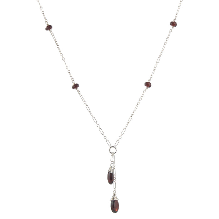 Long Gemmed Necklace