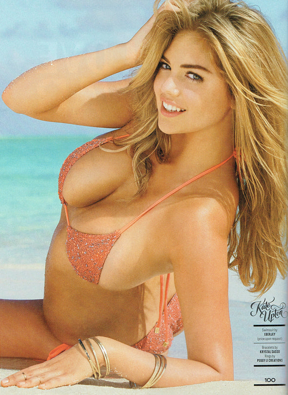 Kate Upton Sports Illustrated Swimsuit 2014 rings