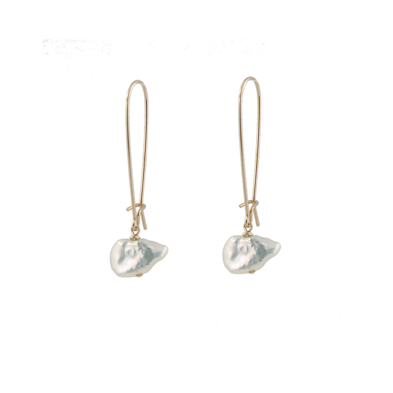 Keshi Pearl Earrings