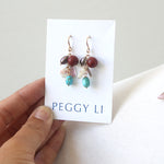 Leftovers Earrings by Peggy Li