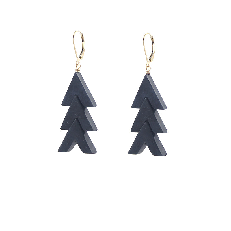 Chevron Stack Earrings