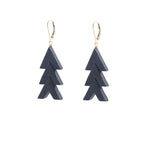 Stacked Chevron Earrings