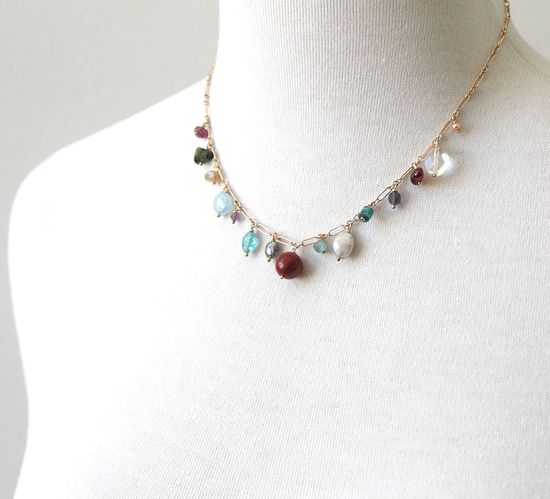 Lovely leftovers necklace by Peggy Li