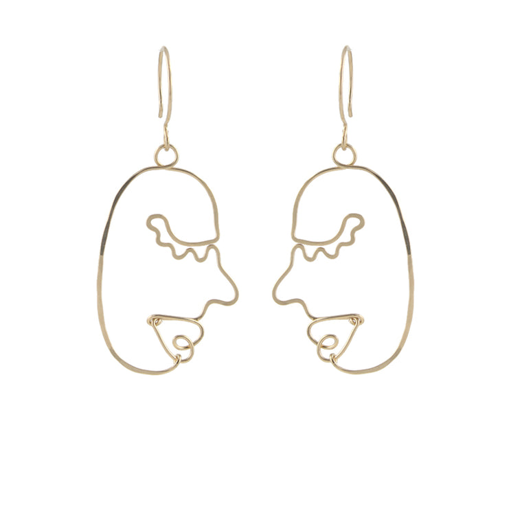 About Face Earrings