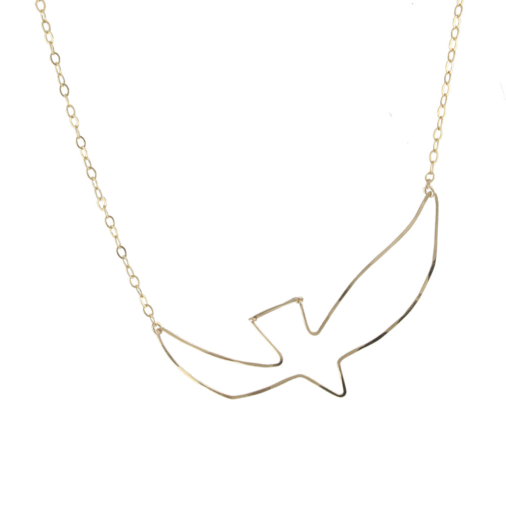 Artful Bird Necklace