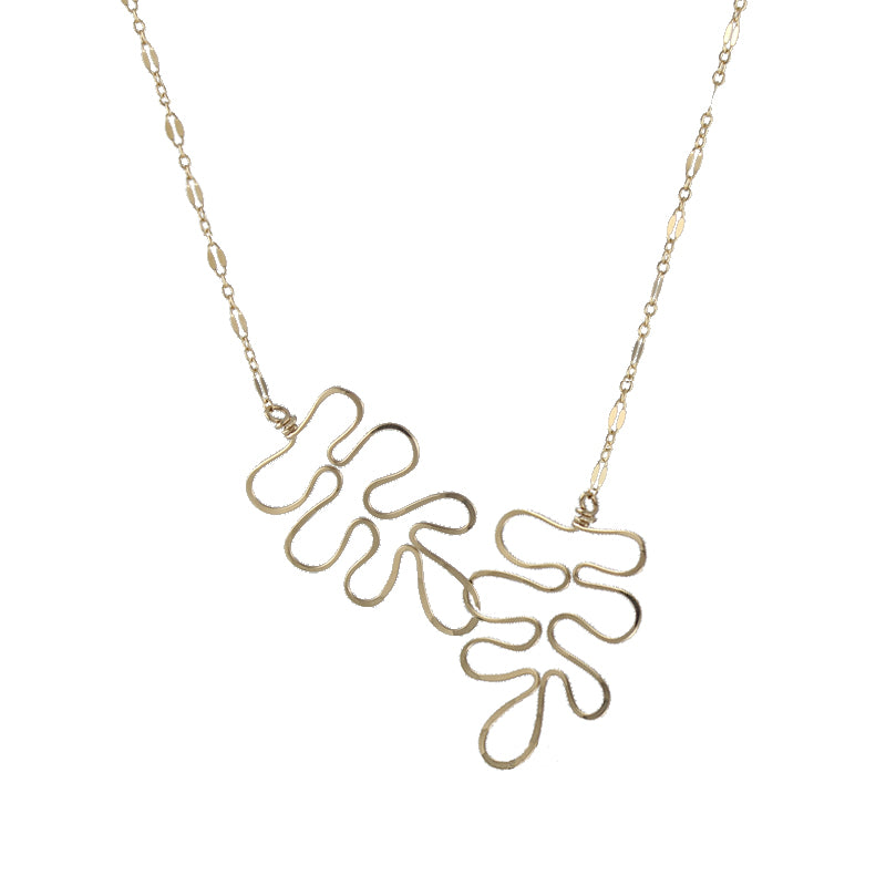 Artful Cutout Necklace