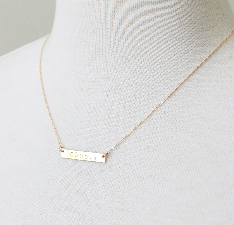 Nameplate Necklace seen on Lucy Hale Pretty Little Liars